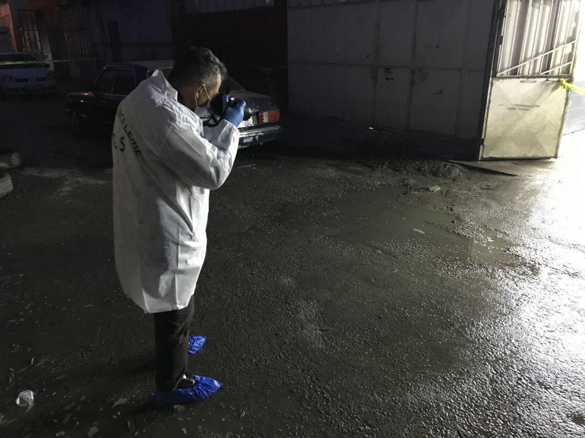 Konya da oto yıkama dükkanında silahlı kavga #1