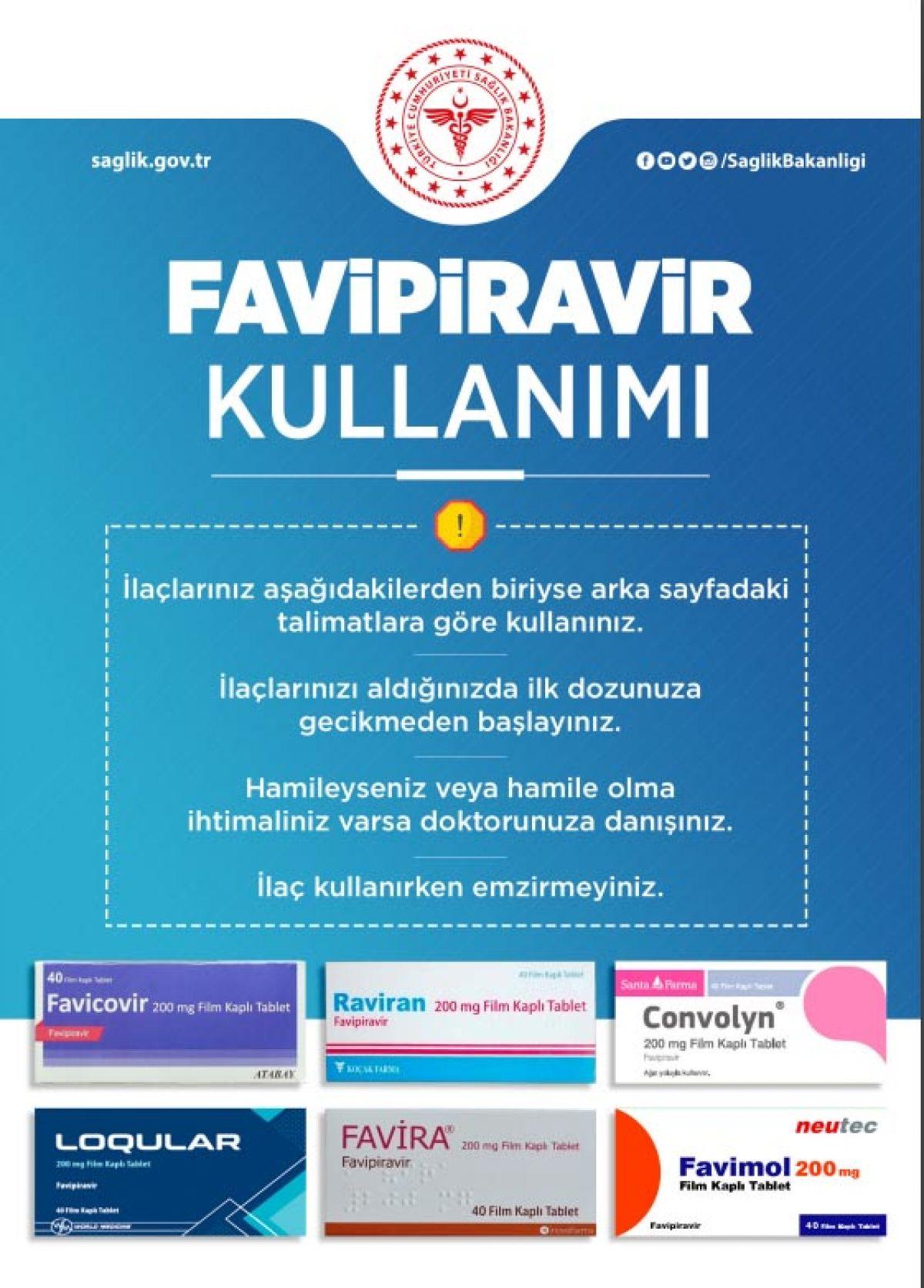 Sağlık Bakanlığı, koronavirüs ilaçlarının doğru kullanımı için broşür hazırladı #2