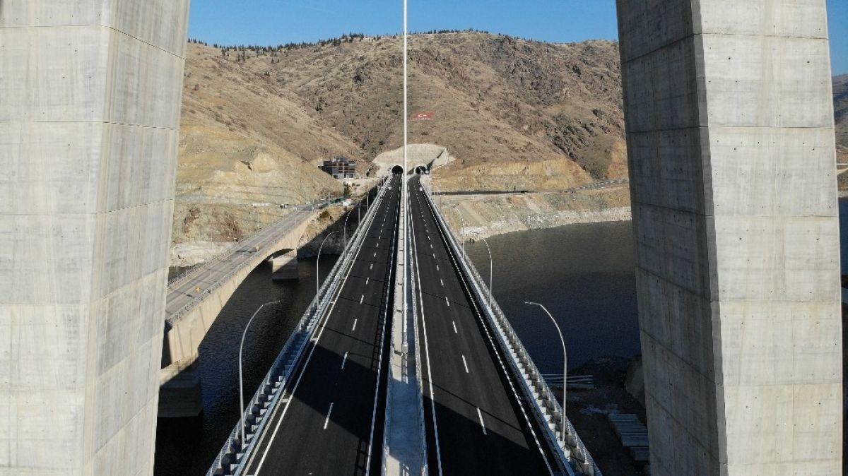 Kömürhan Köprüsü hizmete açıldı #4