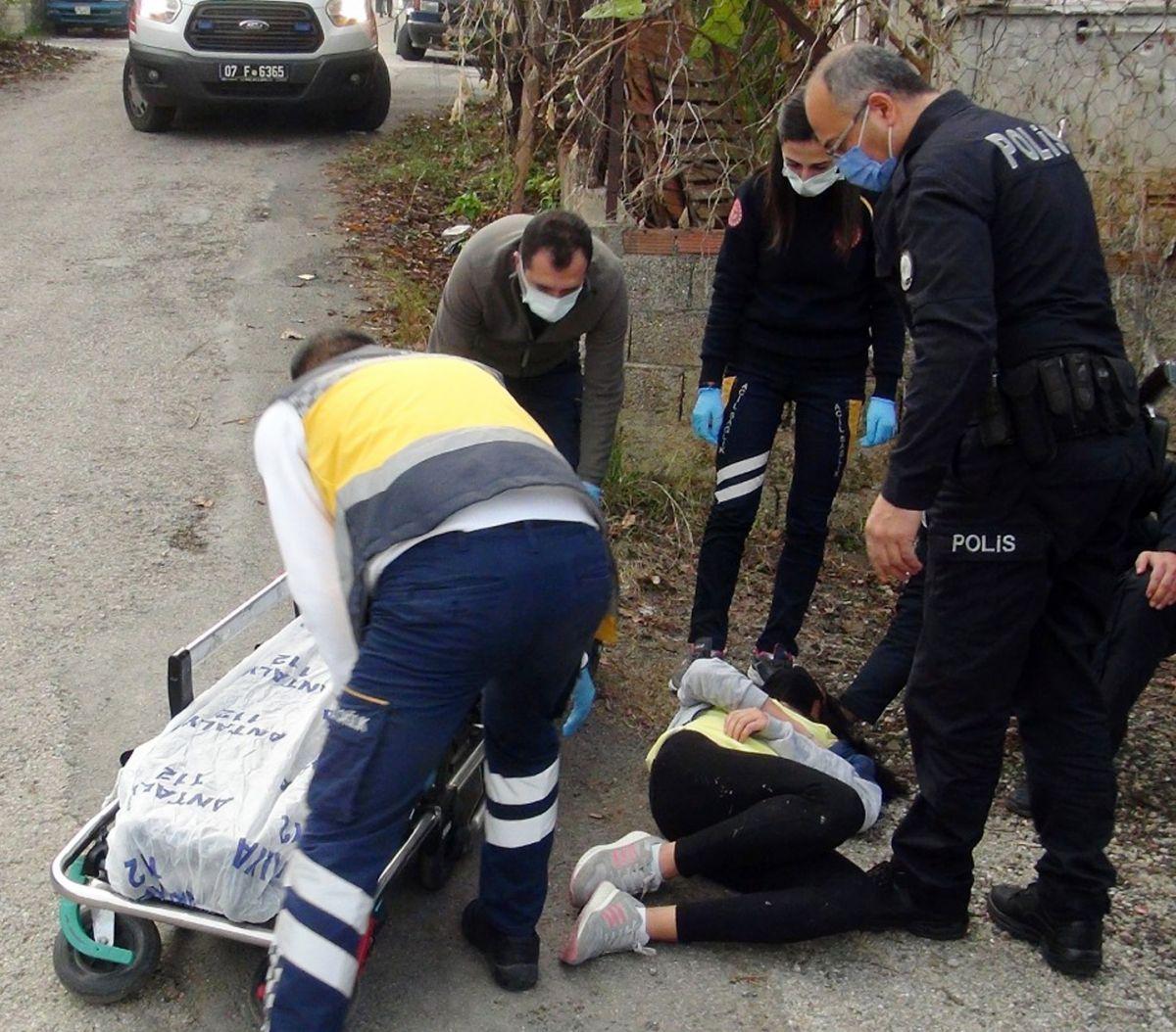 Antalya'da eşini ve çocuklarını dövünce gözaltına alındı