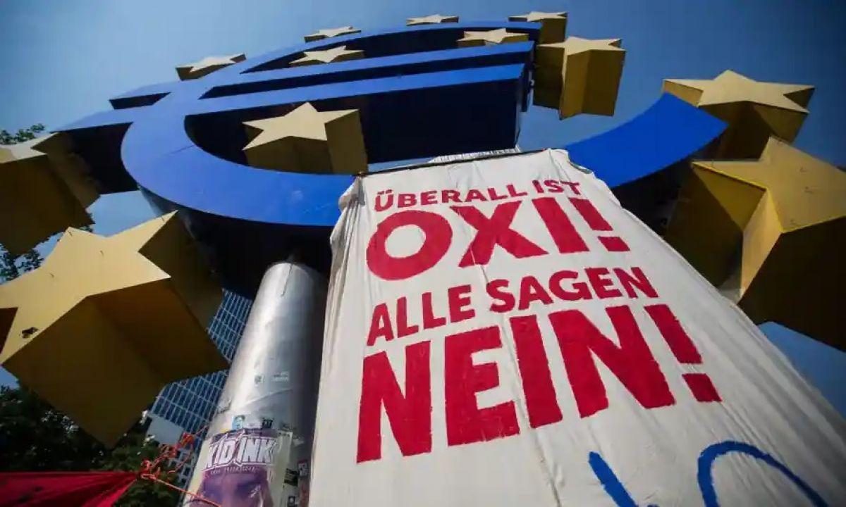 Yunanistan da borç krizi #1