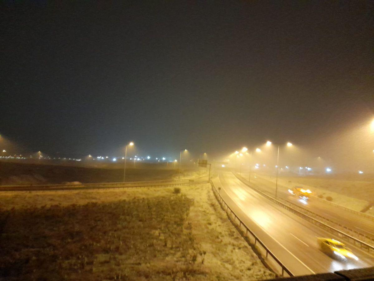 İstanbul da kar yağışı etkisini artırdı #13