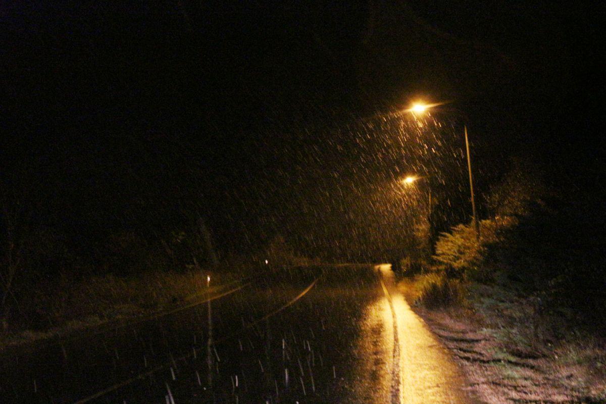 İstanbul da kar yağışı etkisini artırdı #9