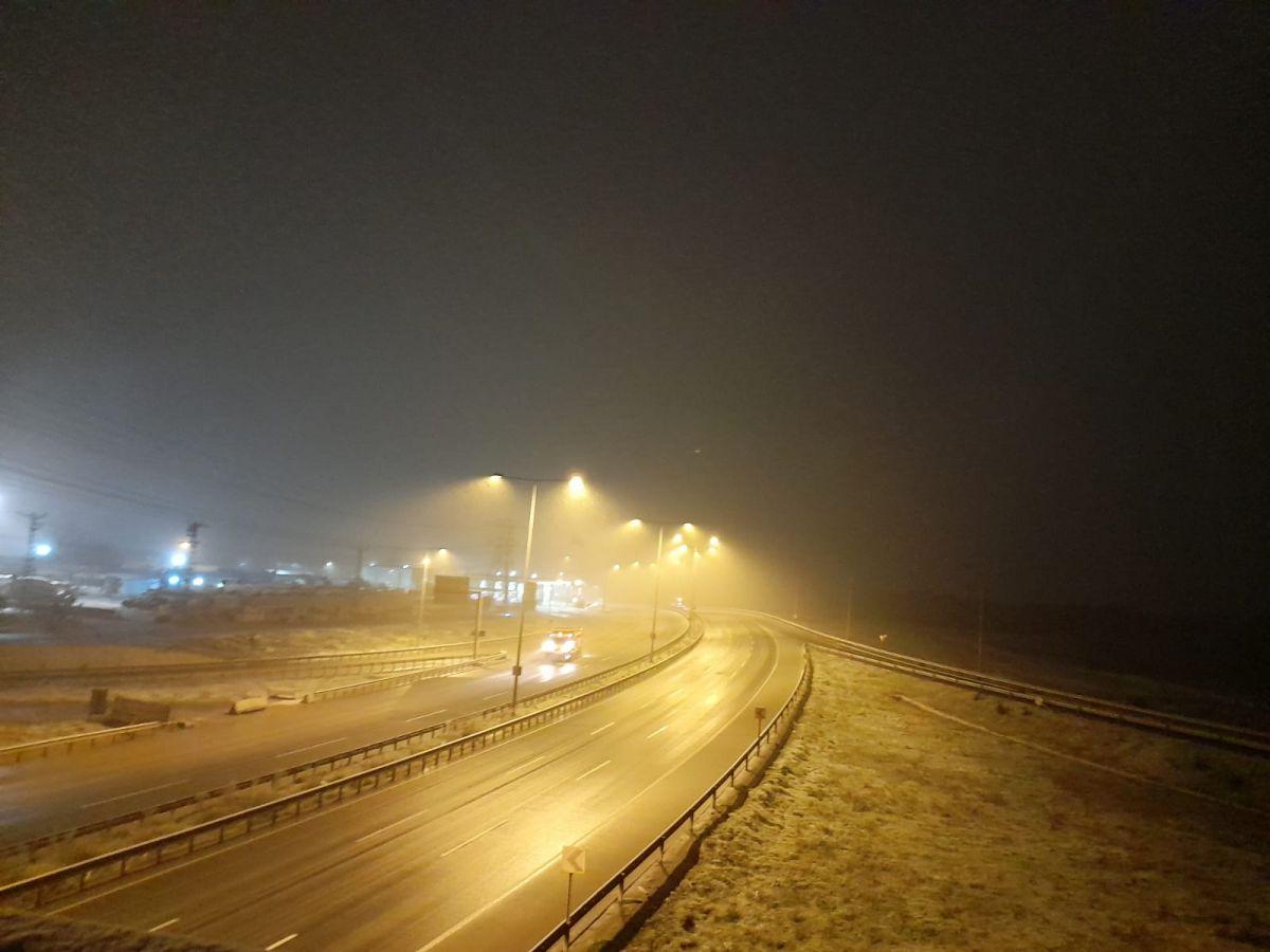 İstanbul da kar yağışı etkisini artırdı #12