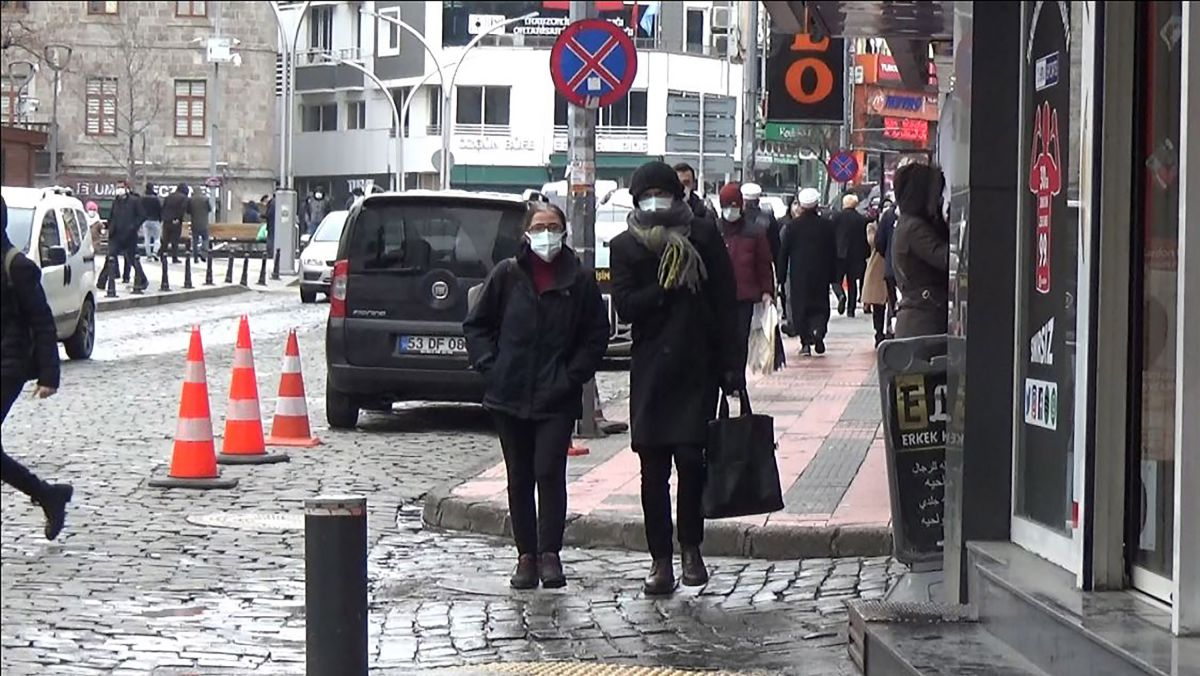 Trabzon da mutant virüsle bulaş riski 1.5 kat arttı #1