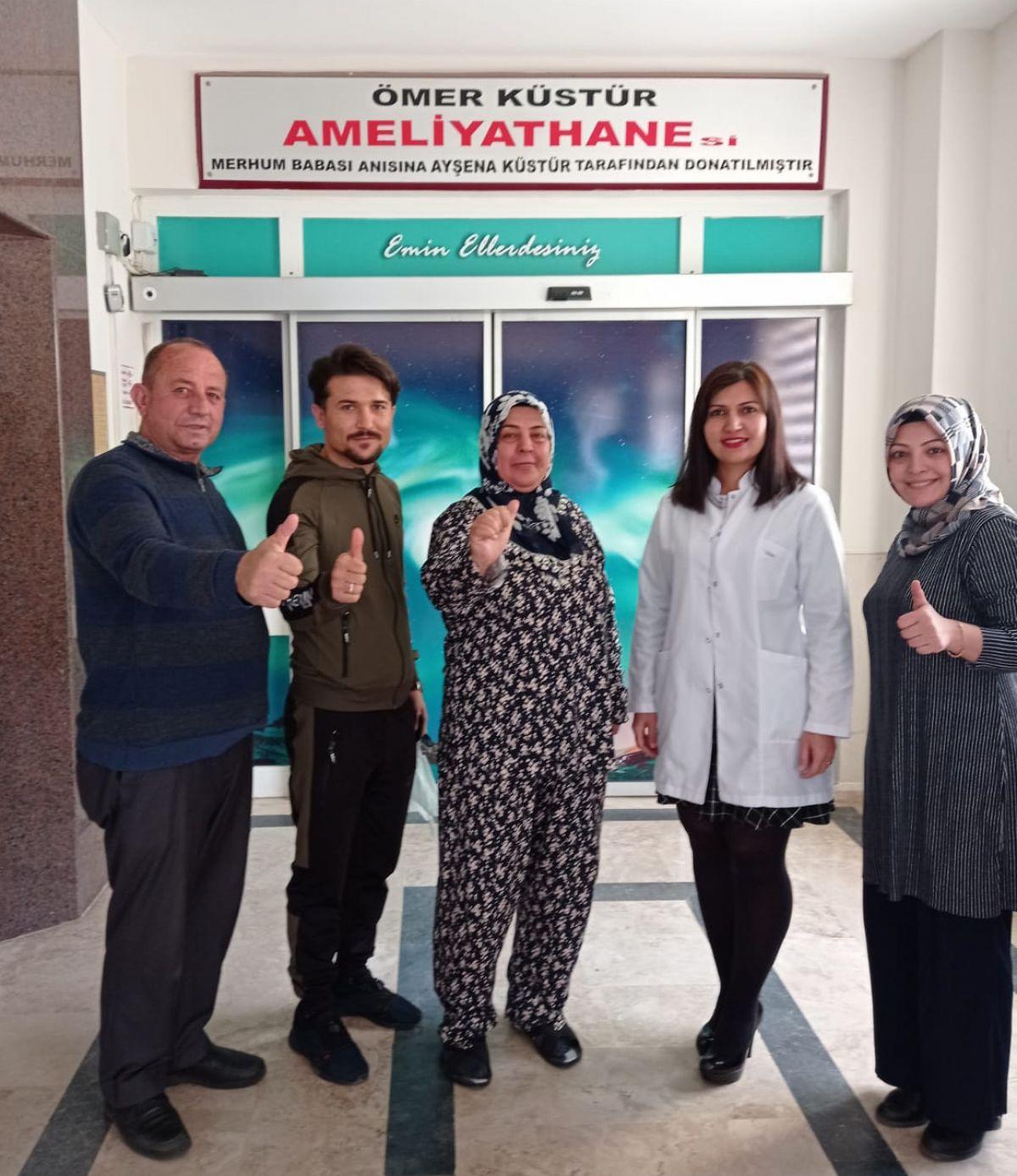 Antalya'da 30 santimlik safra kesesi dünya tıp literatürüne girdi