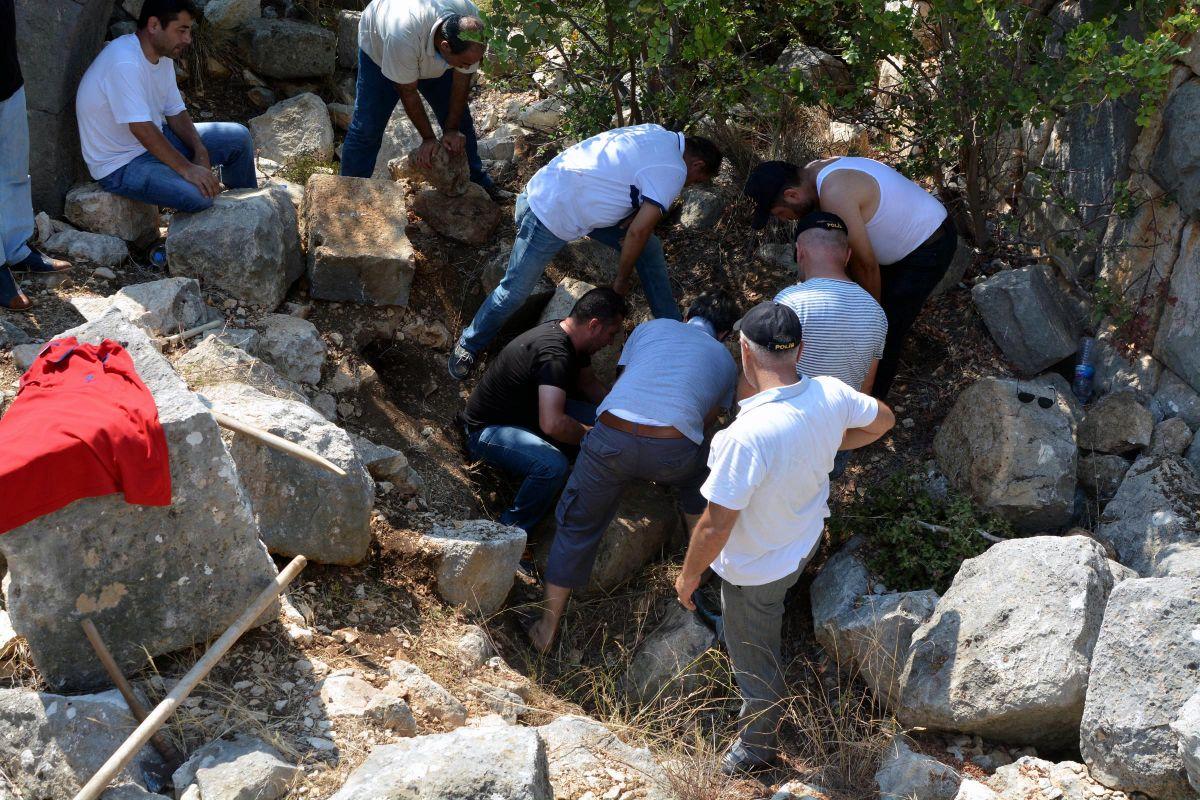 Adana da genci öldürüp betona gömen firari yakalandı #2