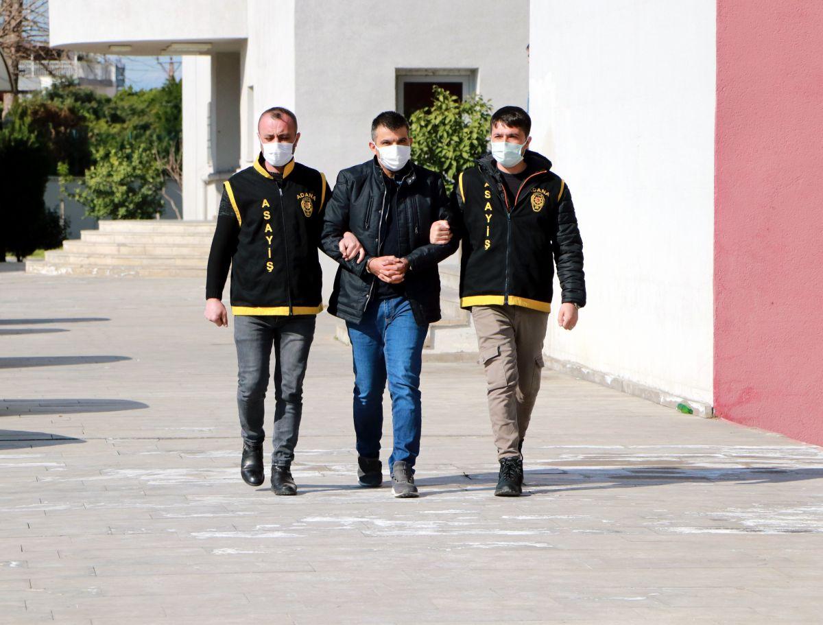 Adana da genci öldürüp betona gömen firari yakalandı #3