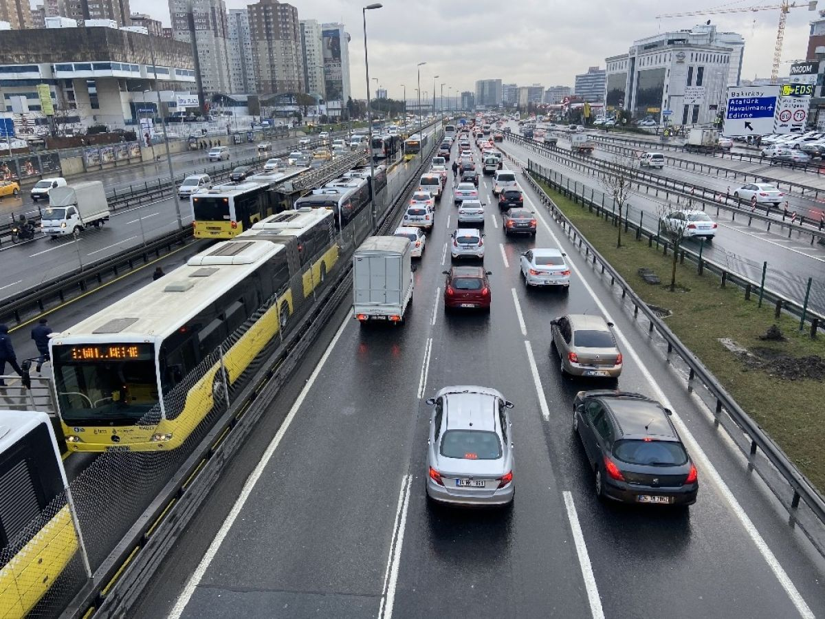 İstanbul da yoğun trafik #2