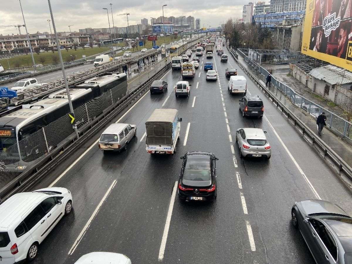 İstanbul da yoğun trafik #1