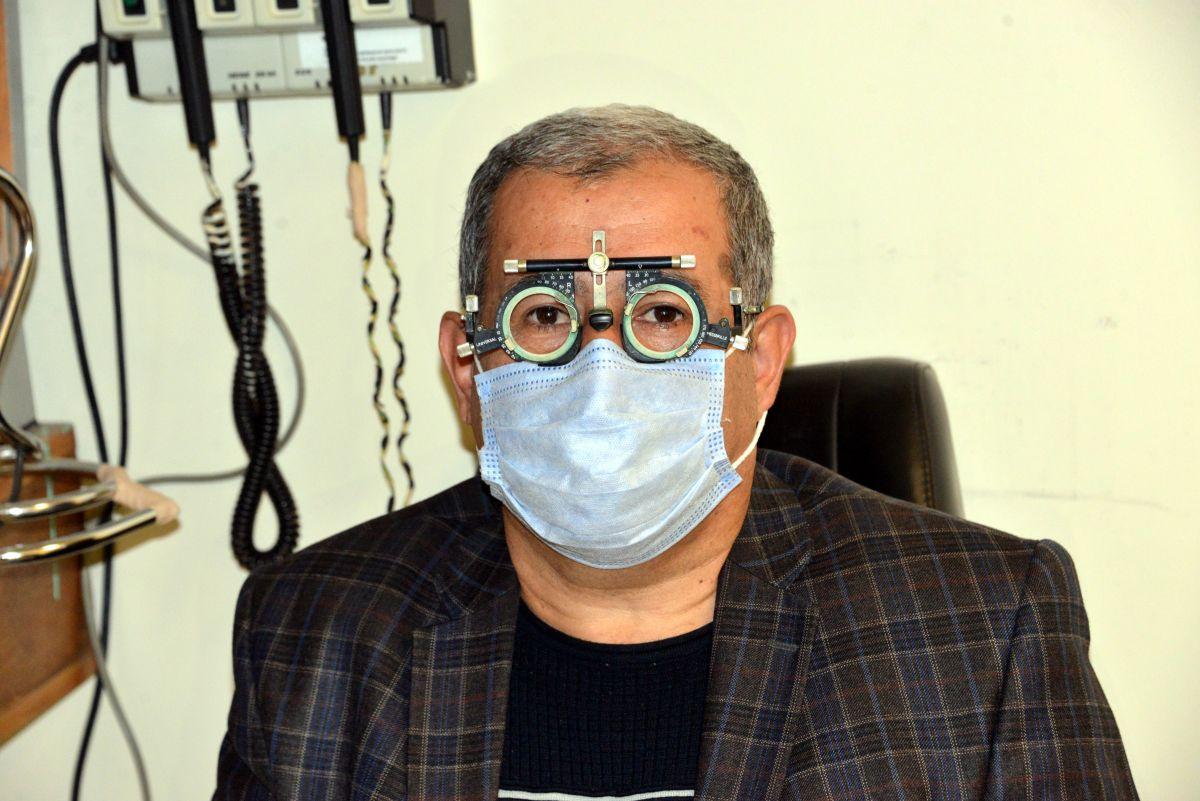 Kahramanmaraş ta bir kişi, koronavirüs nedeniyle gözünü kaybetti #1