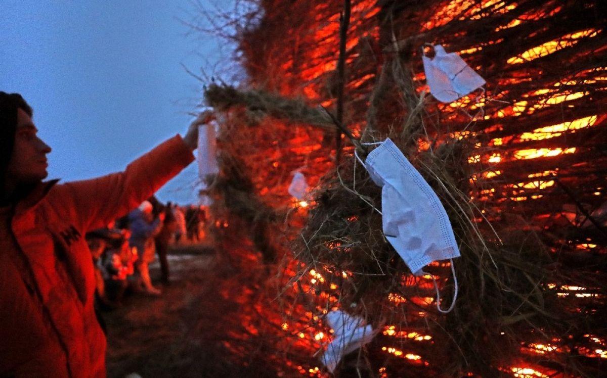 Rusya da koronavirüse karşı dev kaleyi ateşe verdiler #3
