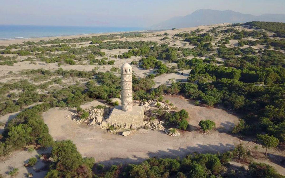 Antalya'da 2 bin yıllık Patara Deniz Feneri yeniden inşa ediliyor