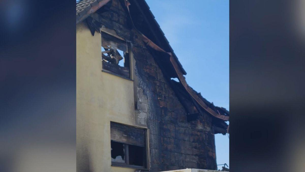Alman kayınbaba evi ateşe verdi, 2 Türk ün evi kullanılamaz hale geldi #1