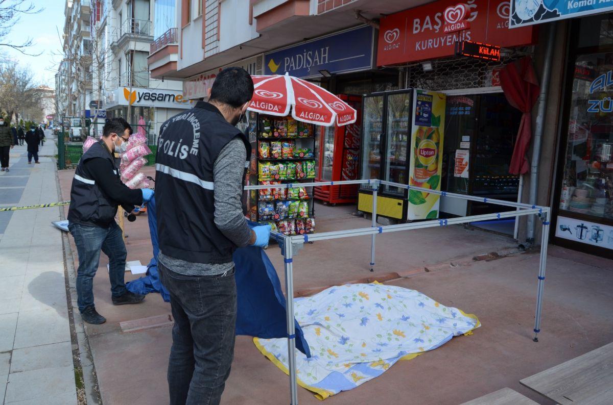 Aksaray da yaşlı adam dengesini kaybedip balkondan düştü #2
