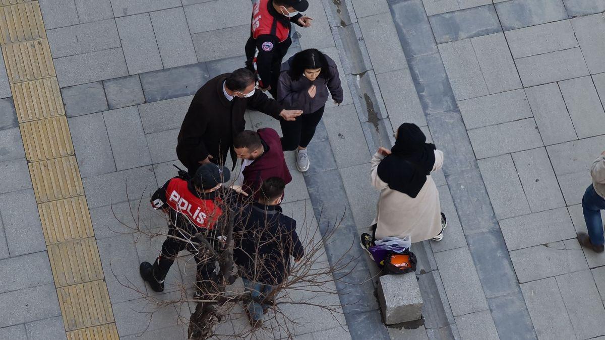 Karabük te kimliği istenen kişinin yakınları polisleri uğraştırdı #3
