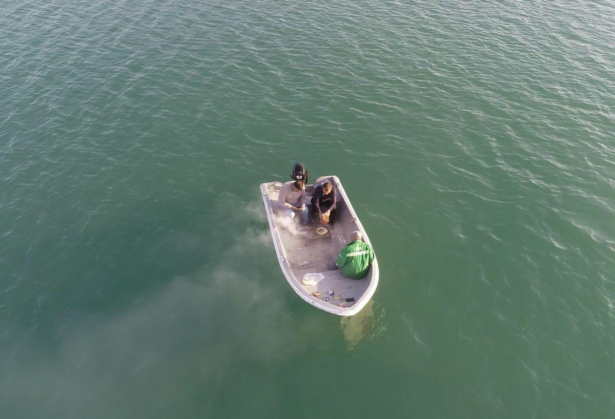 Adana da 3 arkadaş teknede mangal yaktı #1