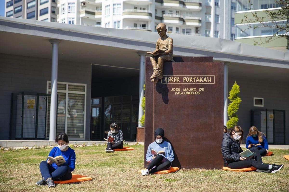 Mersin de heykeller bu kez çocuklar için yapılıyor #3