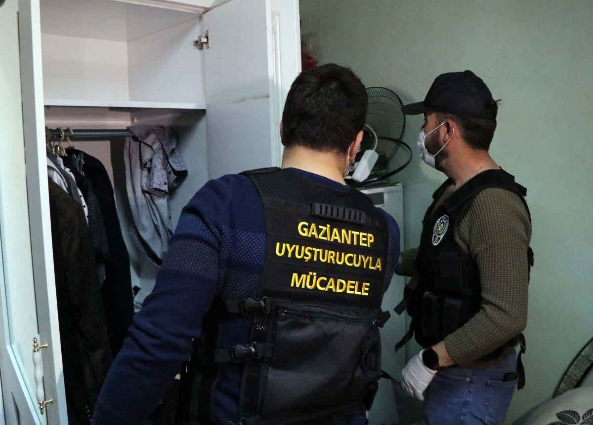 Gaziantep'te 950 polis, uyuşturucu operasyonuna katıldı: 29 gözaltı #10