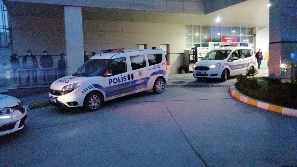 Bolu da alkollü doktor ve ilaç mümessilinden polise saldırı #4