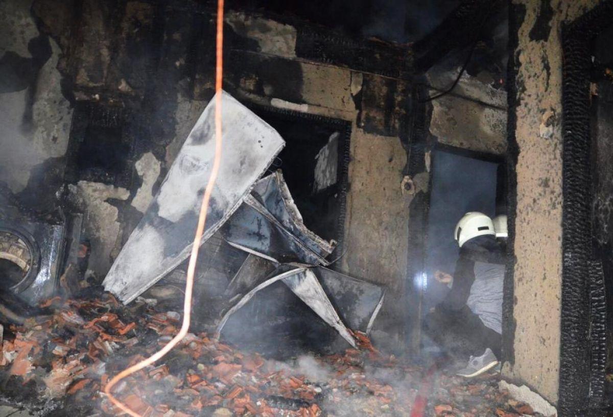 Kütahya da yangında 83 yaşındaki kadın öldü #2