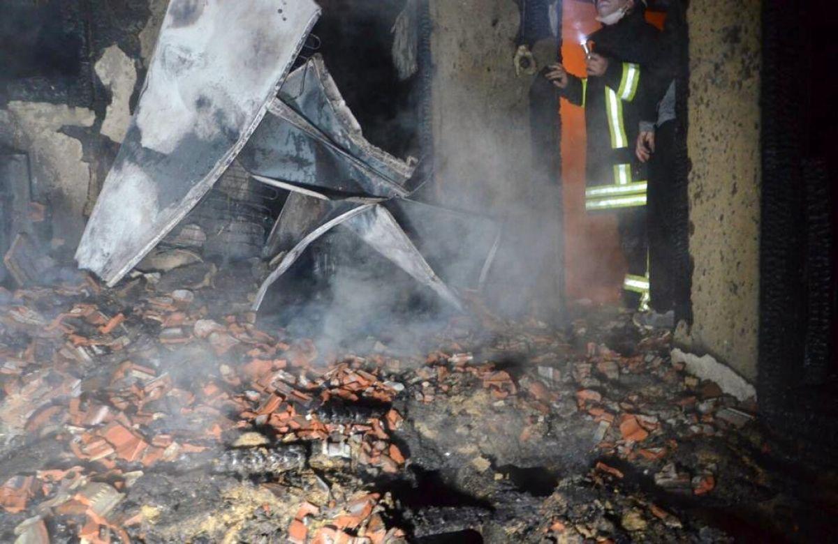 Kütahya da yangında 83 yaşındaki kadın öldü #3