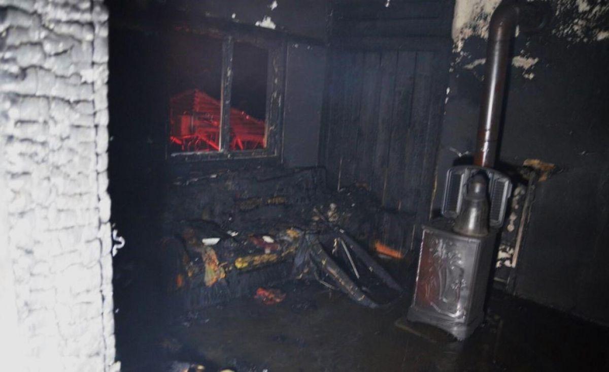 Kütahya da yangında 83 yaşındaki kadın öldü #1