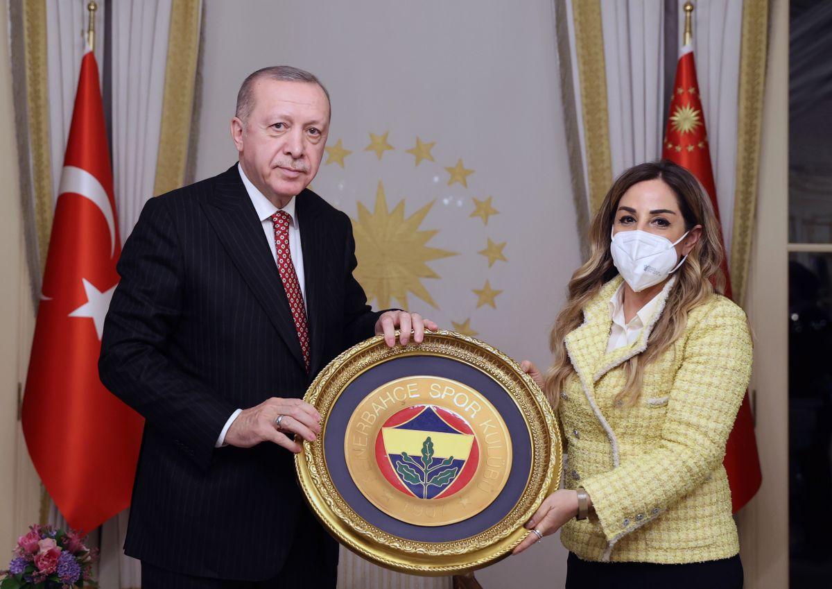 Cumhurbaşkanı Erdoğan, Türkiye Voleybol Federasyonu heyetini kabul etti #4