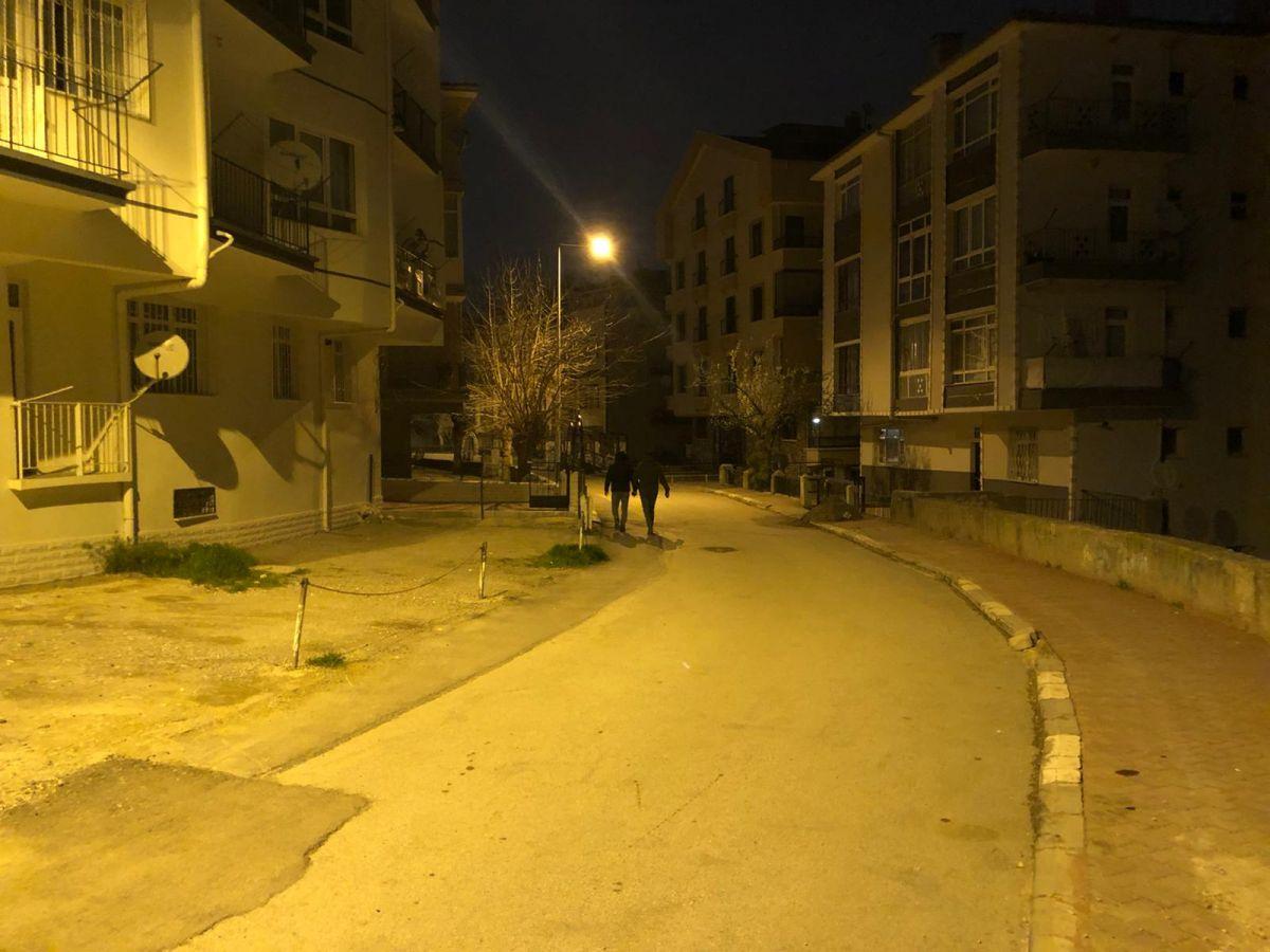 Ankara da, temeli kayan apartman nedeniyle 21 bina tahliye edildi #1