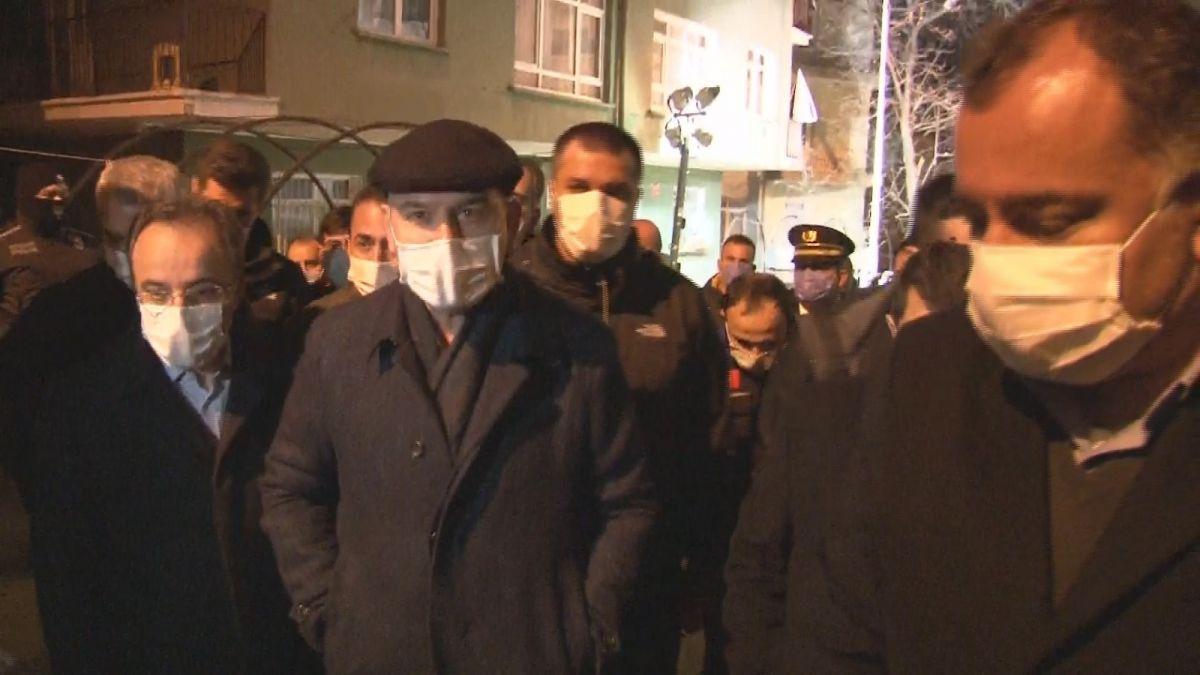 İçişleri Bakanı Soylu, mağduruz diyen Açelya apartmanı sakinini teselli etti #2