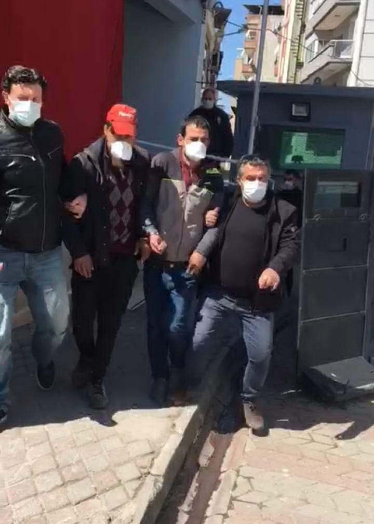 Aydın da, TCDD'ye ait sinyalizasyon kablolarını çalan 6 kişi yakalandı #3