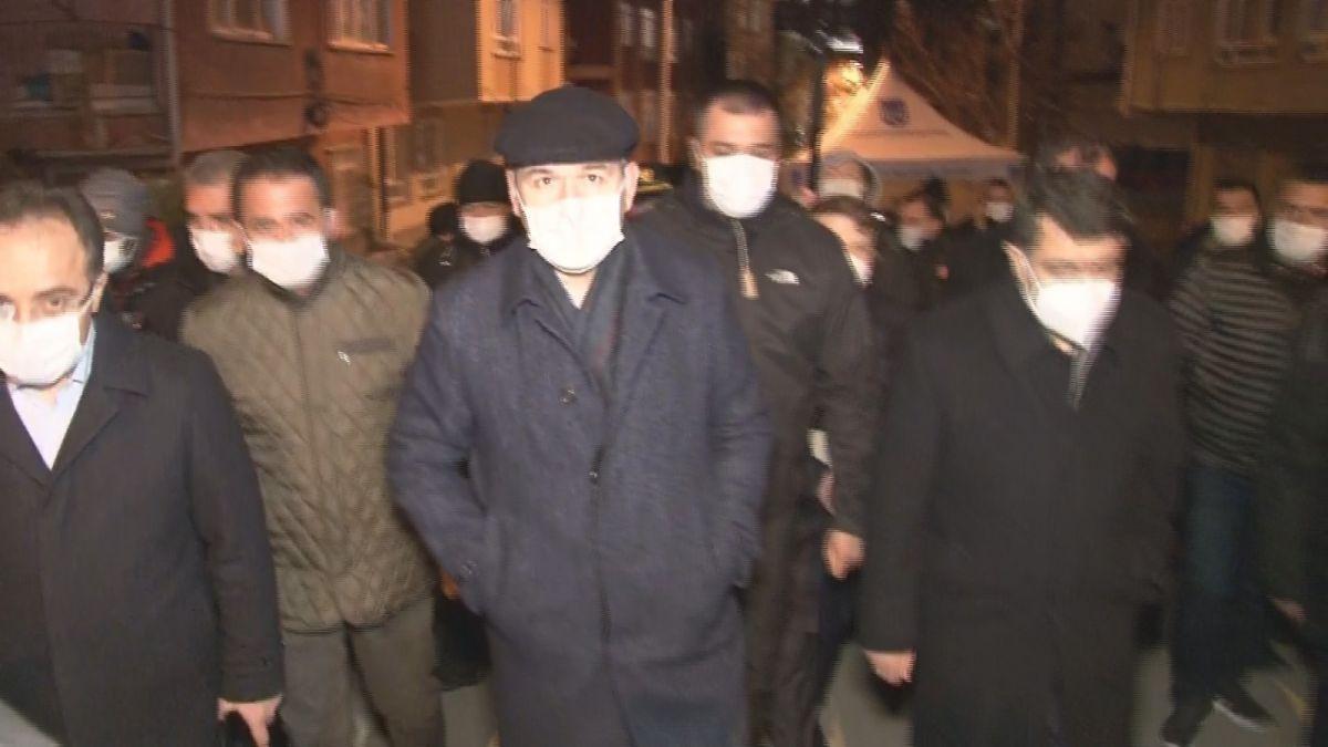 İçişleri Bakanı Soylu, mağduruz diyen Açelya apartmanı sakinini teselli etti #3