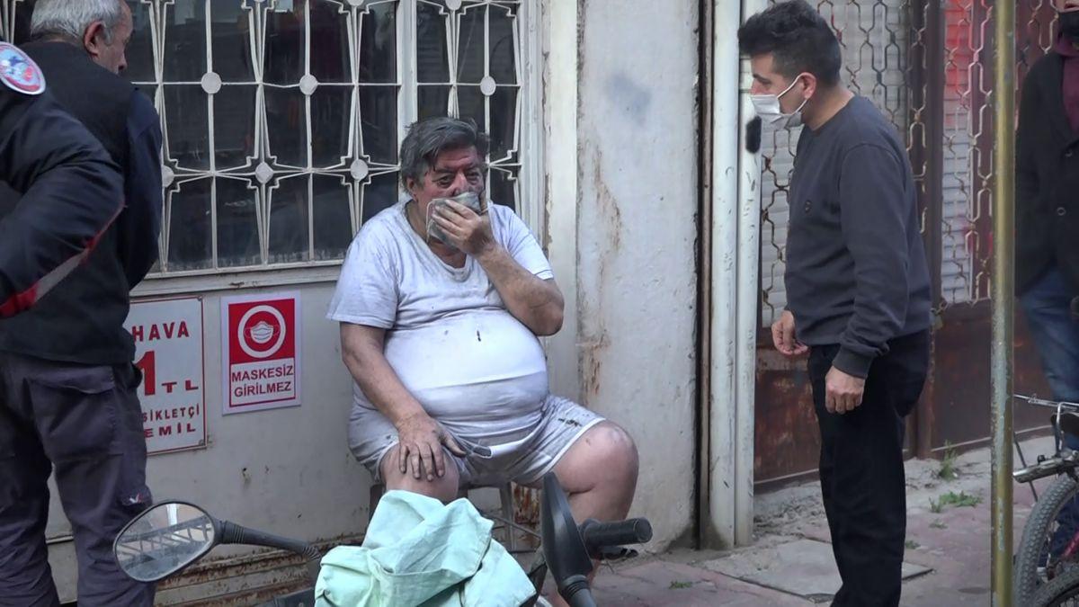 Antalya da patates kızartmak isteyen yaşlı adam ölümden döndü #2
