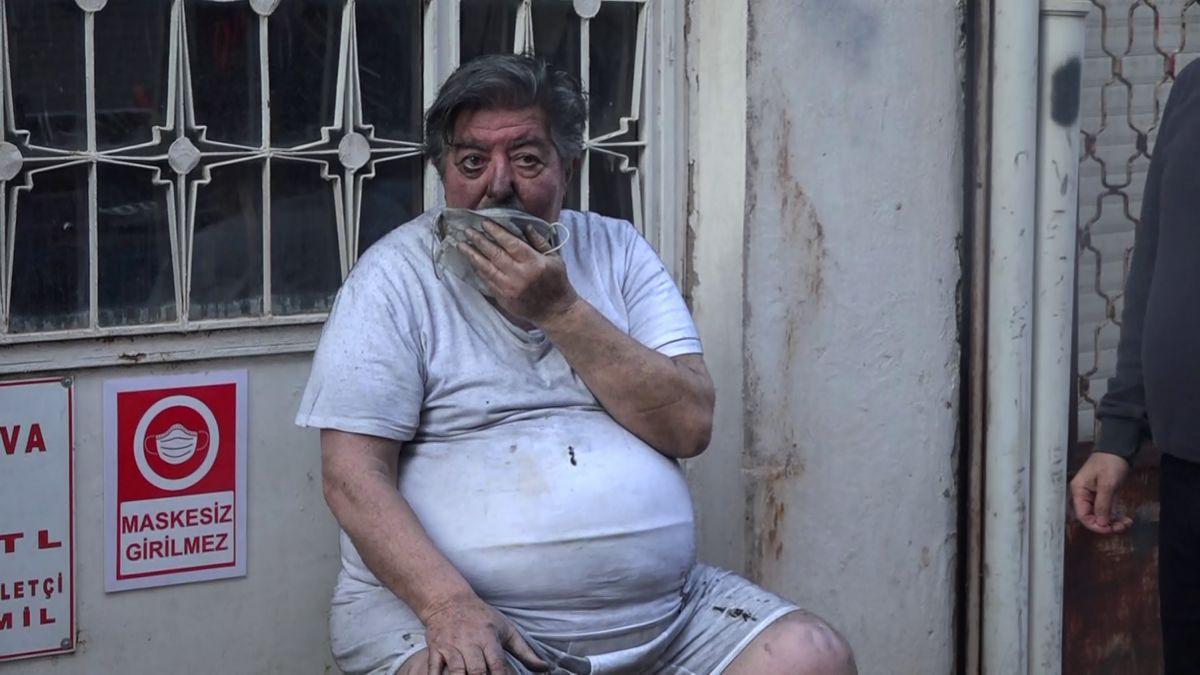 Antalya da patates kızartmak isteyen yaşlı adam ölümden döndü #1