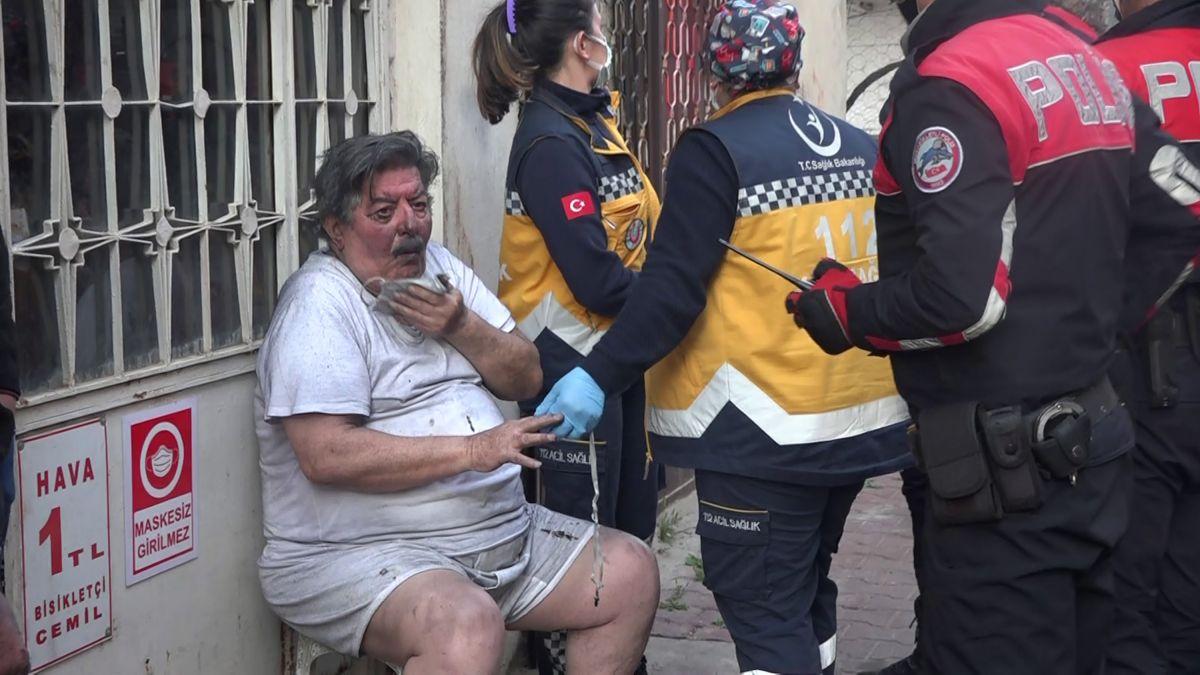 Antalya da patates kızartmak isteyen yaşlı adam ölümden döndü #5