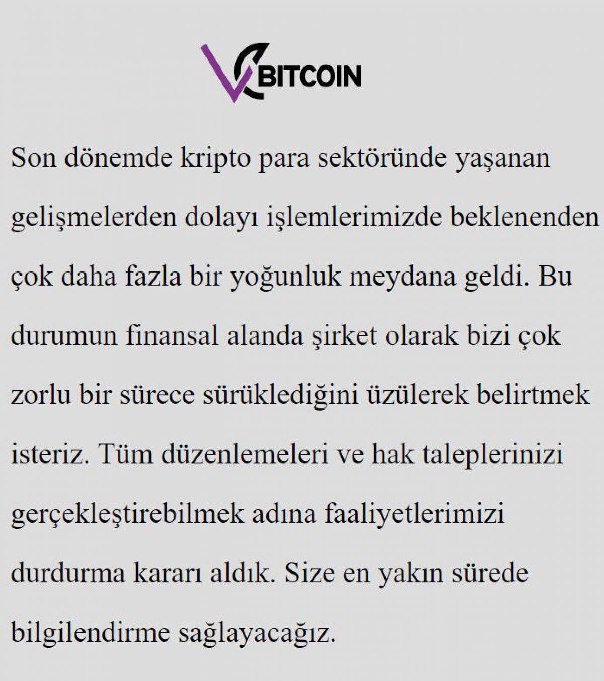 Kripto para işlem platformu Vebitcoin Ceo su gözaltına alındı #5