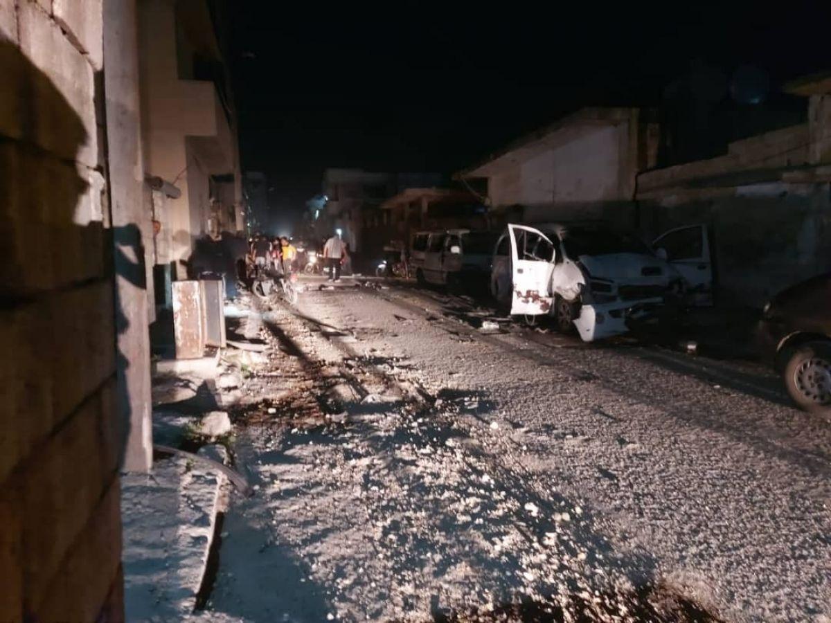 Cerablus ta 2 bombalı saldırı: 1 ölü, 20 yaralı #4
