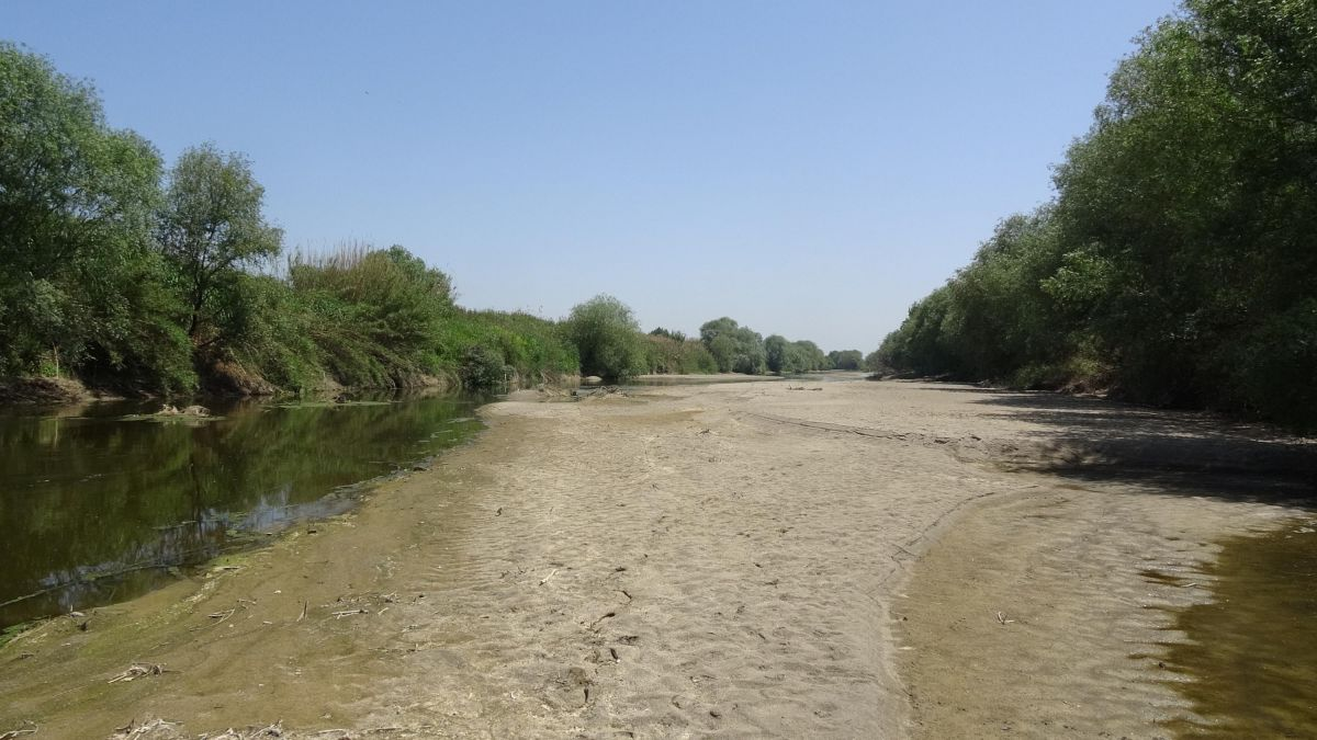 Büyük Menderes Nehri kurudu #8