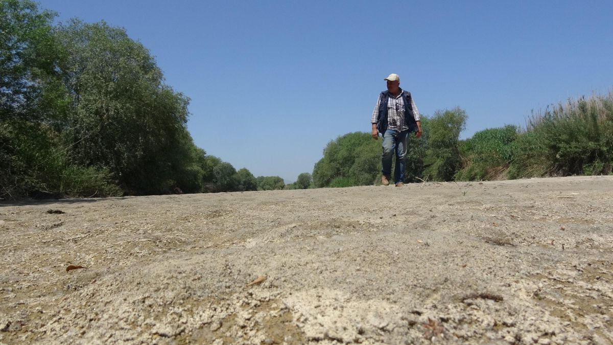 Büyük Menderes Nehri kurudu #7