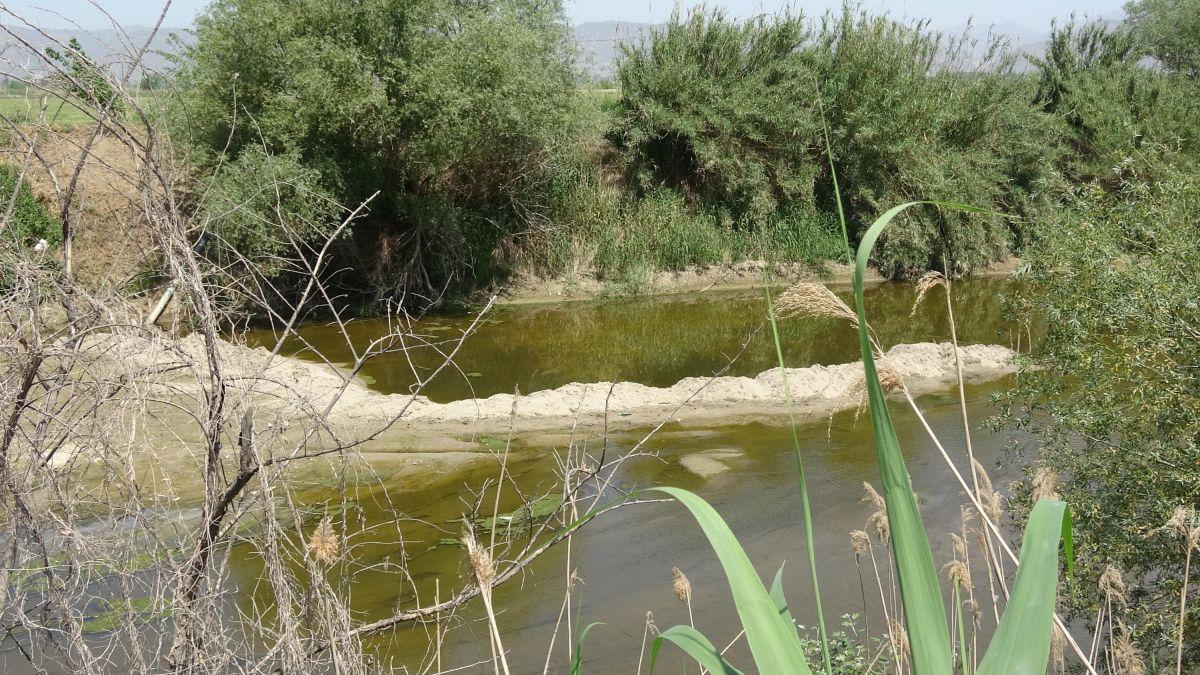 Büyük Menderes Nehri kurudu #3