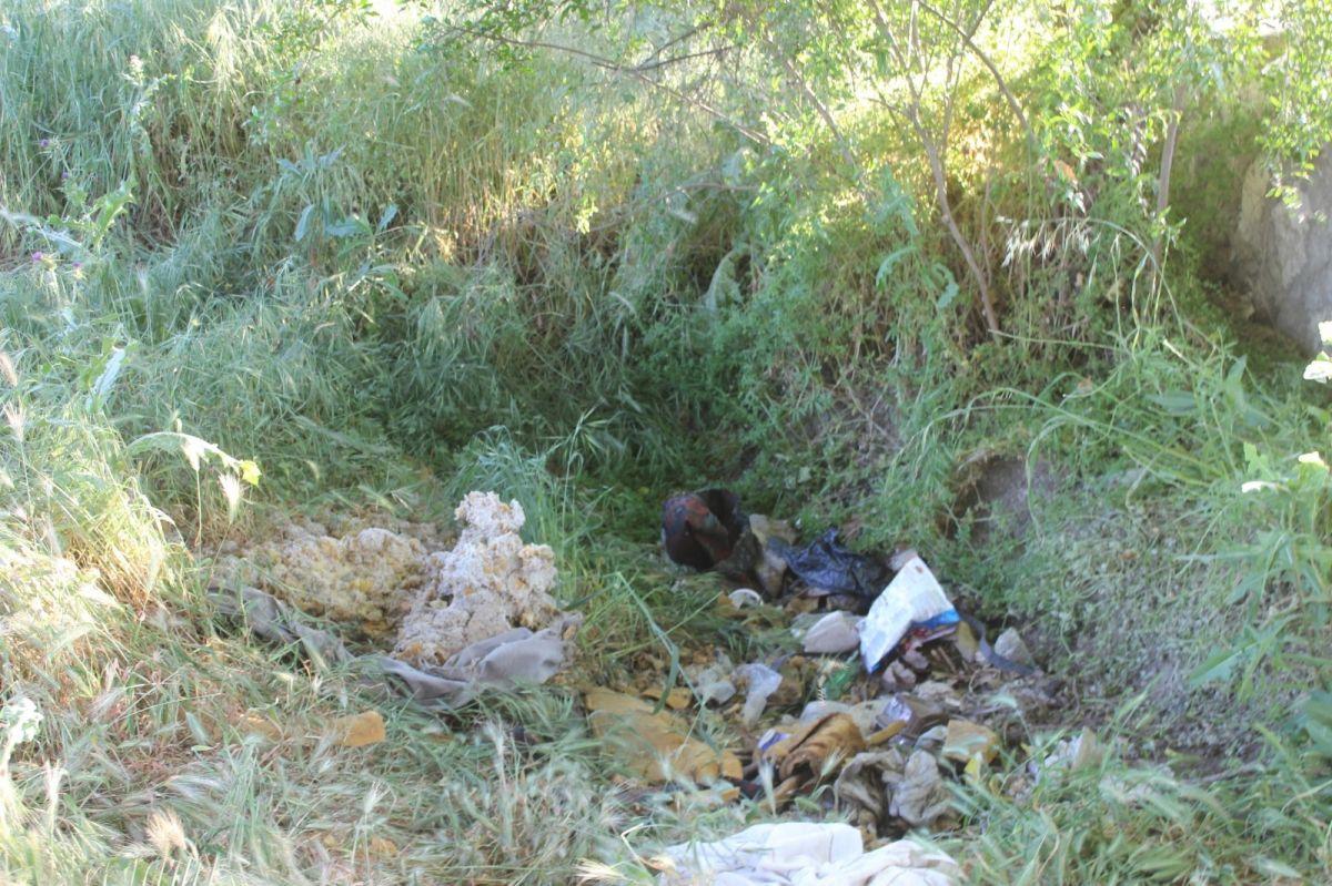 Manisa'da boş arsaya terkedilen 4 günlük bebek hayata tutunamadı #3
