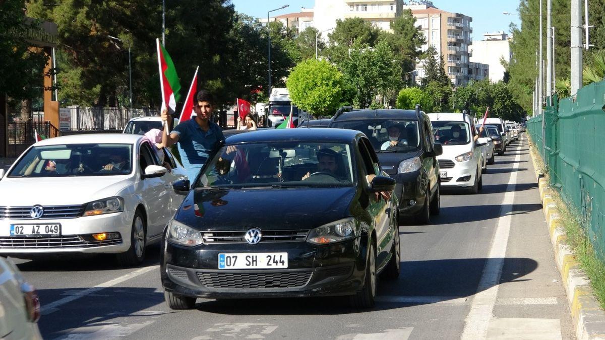 Türkiye nin dört bir yanında Kudüs ve Filistin için destek gösterileri #5