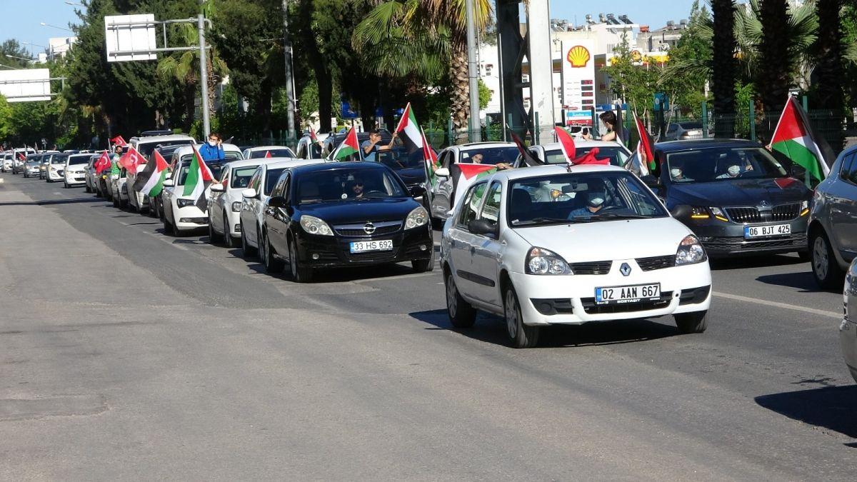 Türkiye nin dört bir yanında Kudüs ve Filistin için destek gösterileri #3