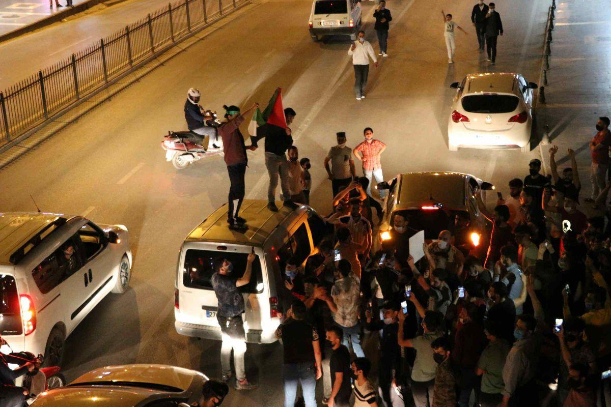 Türkiye nin dört bir yanında Kudüs ve Filistin için destek gösterileri #8
