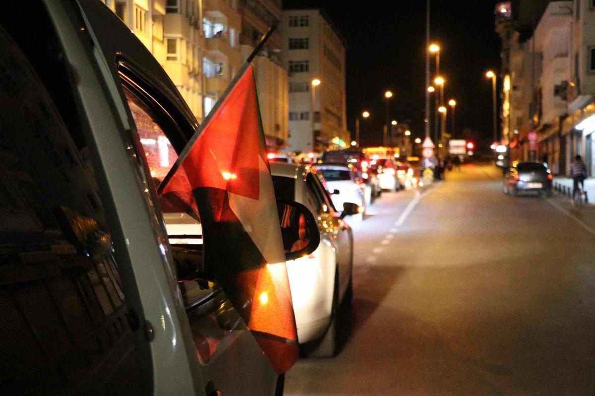 Türkiye nin dört bir yanında Kudüs ve Filistin için destek gösterileri #6