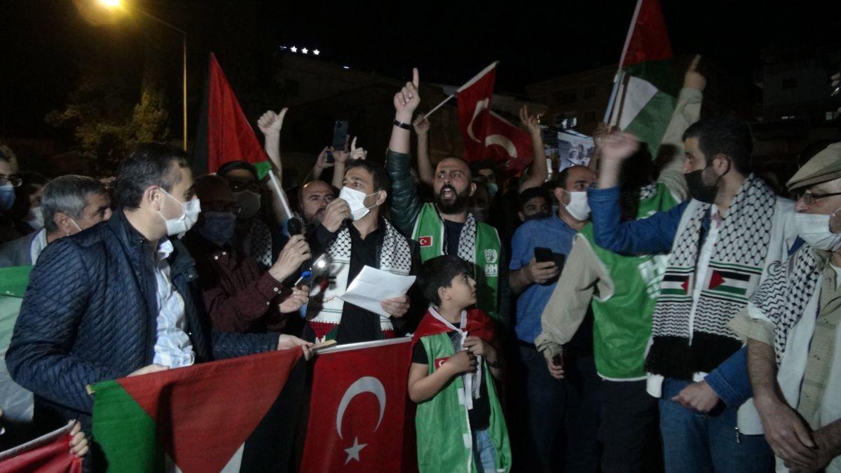 Türkiye nin dört bir yanında Kudüs ve Filistin için destek gösterileri #16