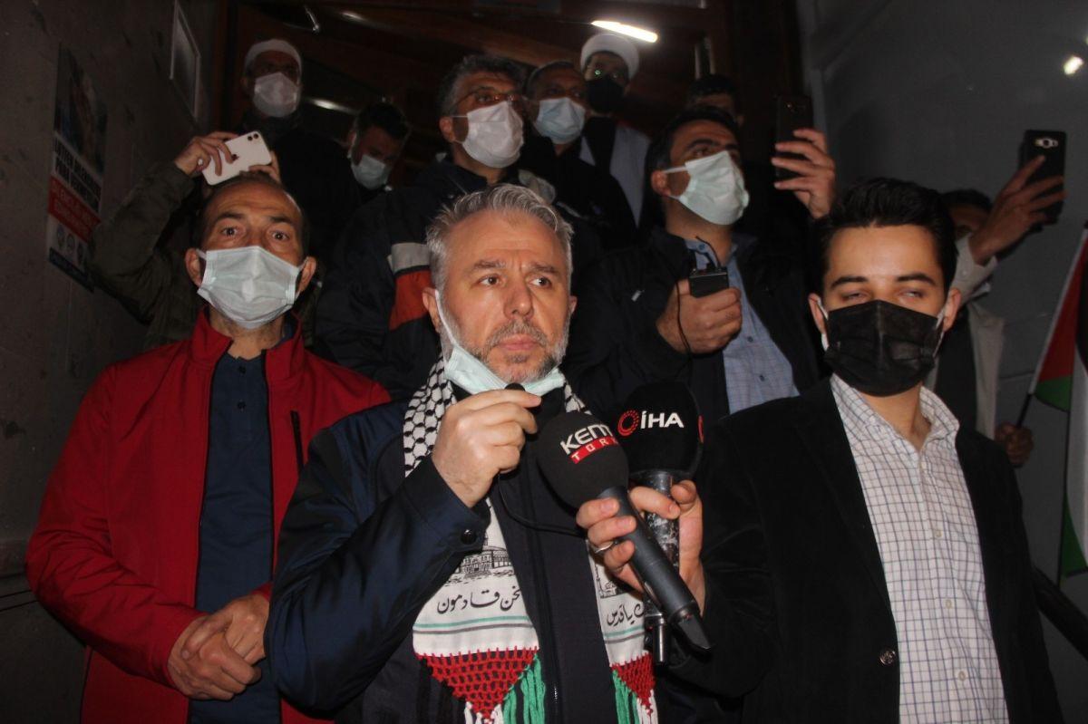 Türkiye nin dört bir yanında Kudüs ve Filistin için destek gösterileri #27