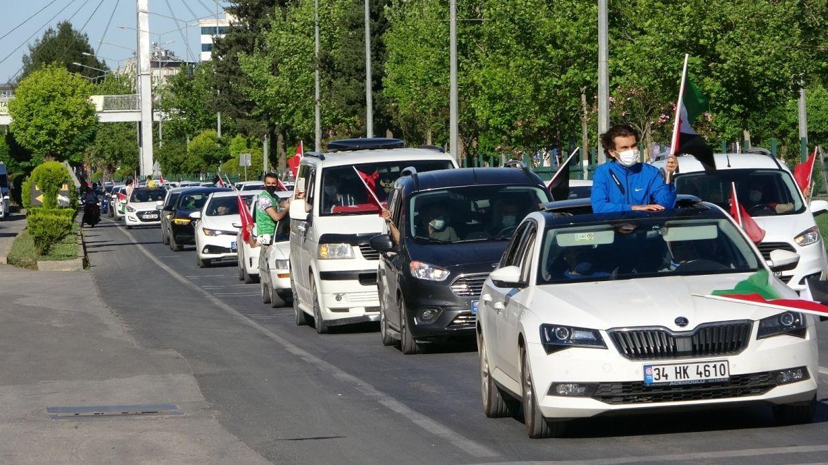 Türkiye nin dört bir yanında Kudüs ve Filistin için destek gösterileri #4