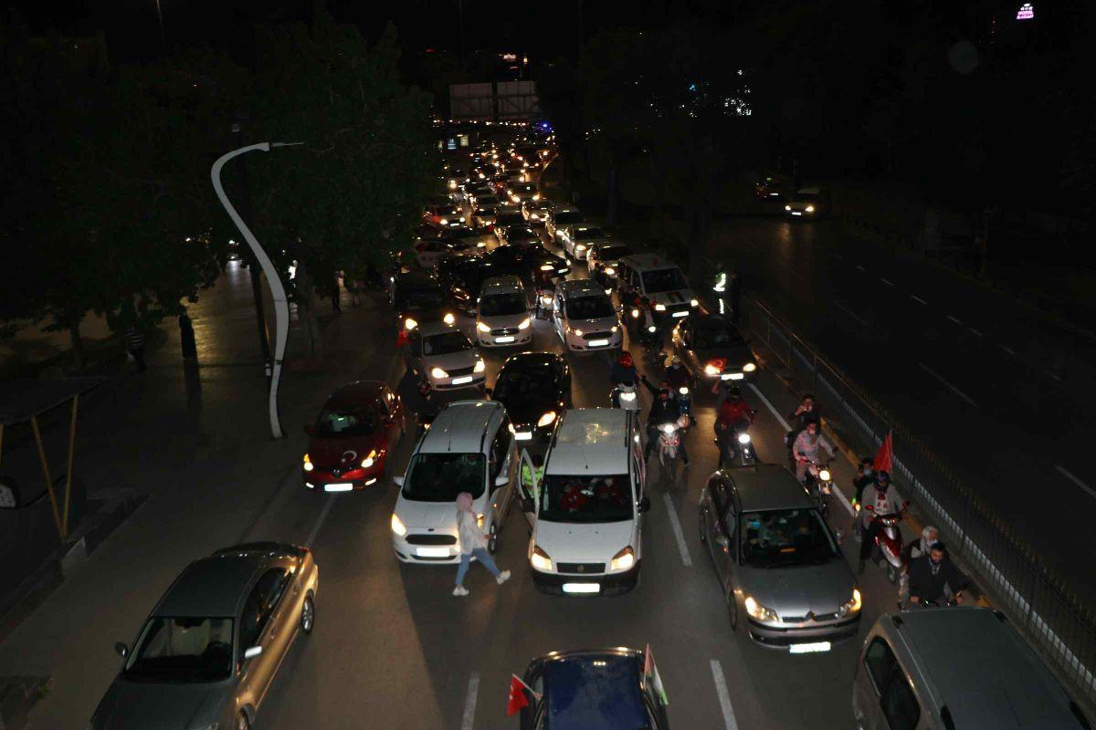 Türkiye nin dört bir yanında Kudüs ve Filistin için destek gösterileri #12