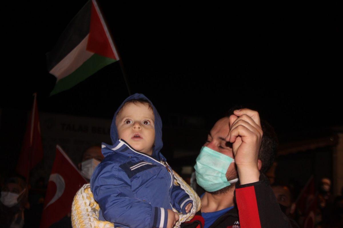 Türkiye nin dört bir yanında Kudüs ve Filistin için destek gösterileri #23